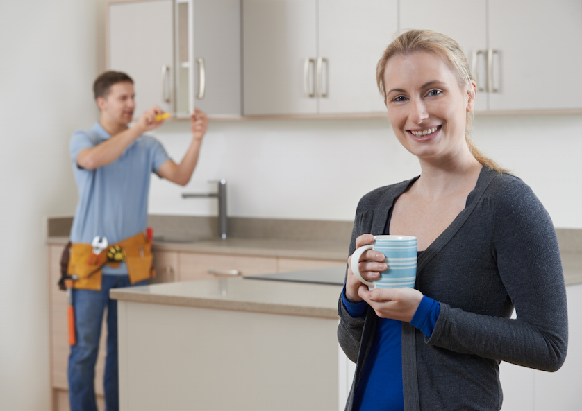 Getting your new kitchen installed